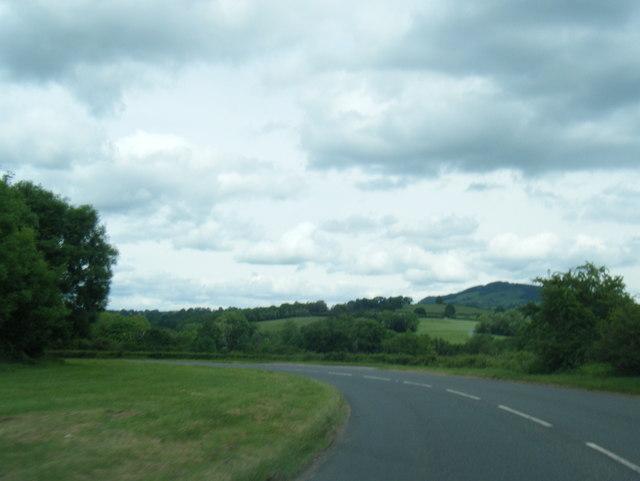 B4521 east of Llanvetherine