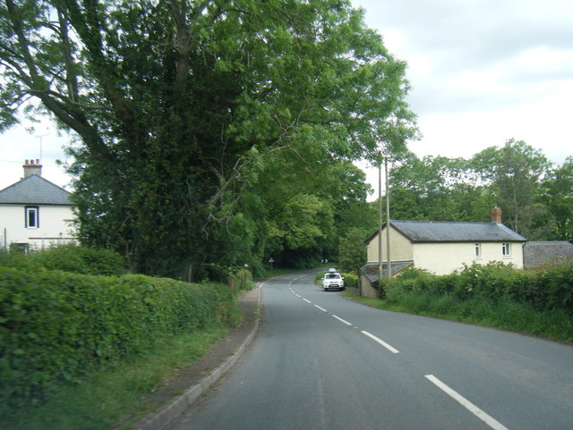 B4521 Old Ross Road east of Offas Dyke Path