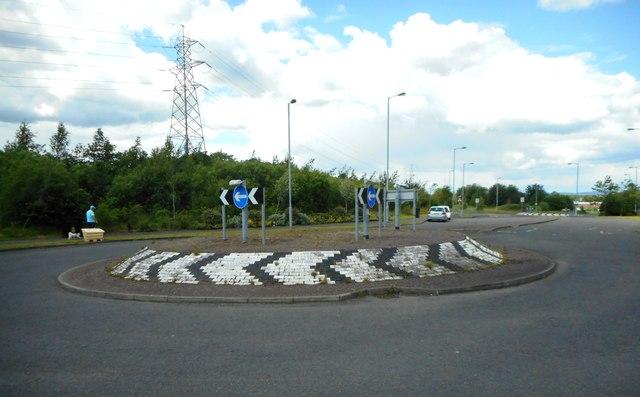 Roundabout on Parkmanor Avenue