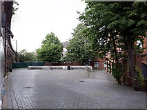 SE3033 : Small open space in Leeds by Stephen Craven