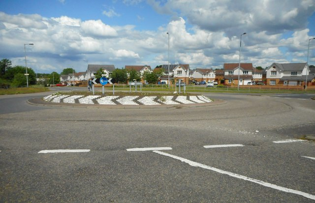 Roundabout on the B773
