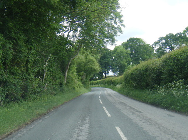 B4521 east of March Hill