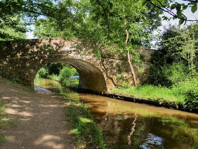 Shropshire Union Canal Bridge#55
