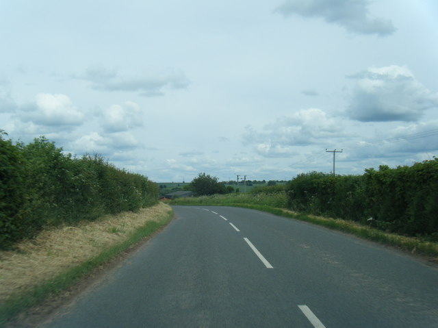 B4521 near Yew Tree Farm
