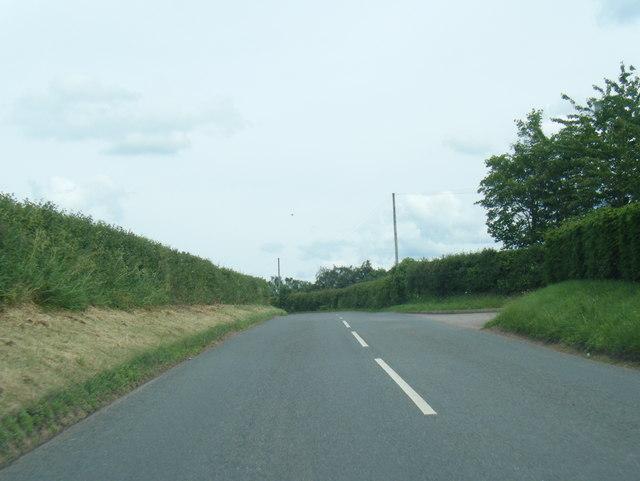 B4521 east of Tretire