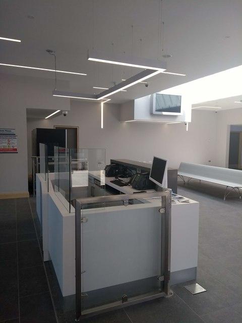 Interior Portrush Station