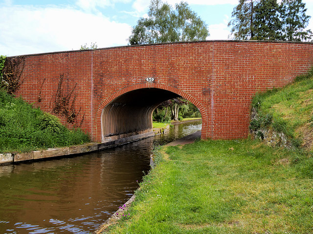 Shropshire Union (Llangollen) Canal, Hampton Bank Bridge