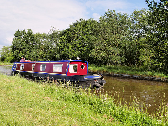 Narrowboat on the Llangollen Canal