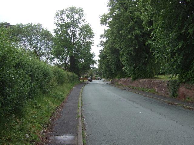 School Road, Himley