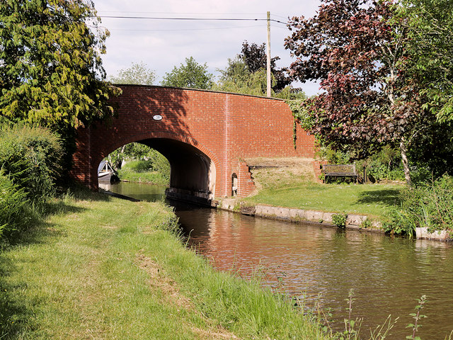 Shropshire Union Canal Bridge#50, Hampton Bank