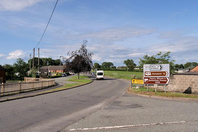 The A495, Welshampton