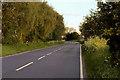 SJ4921 : A528 towards Shrewsbury by David Dixon