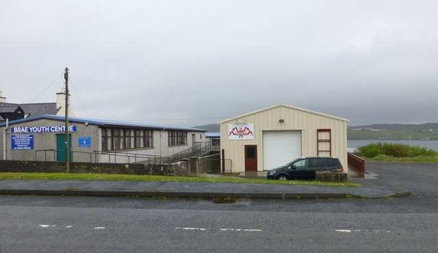 Brae Youth Centre and Delting Up-Helli-Aa Shed