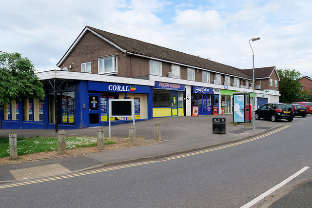 Shops on Mount Pleasant Road