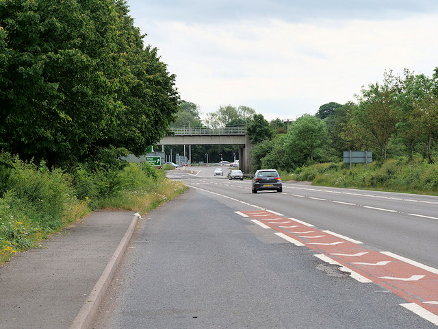 Railway Bridge over the A49