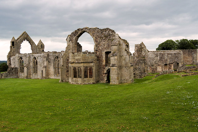 Haughmond Abbey, Abbots' House and Refectory