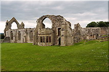 SJ5415 : Haughmond Abbey, Abbots' House and Refectory by David Dixon