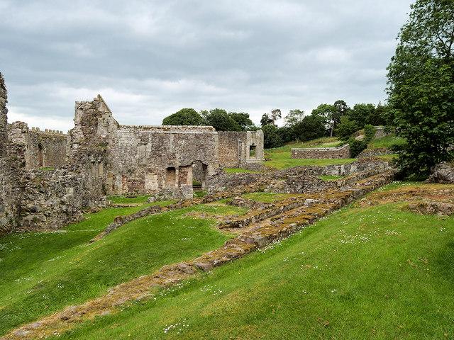 Haughmond Abbey Remains