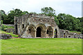 SJ5415 : The Chapter House, Haughmond Abbey by David Dixon