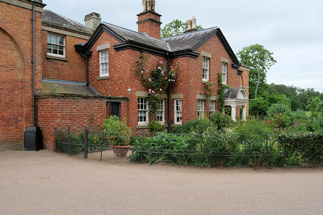 Rear of the Stable Block, Attingham Park