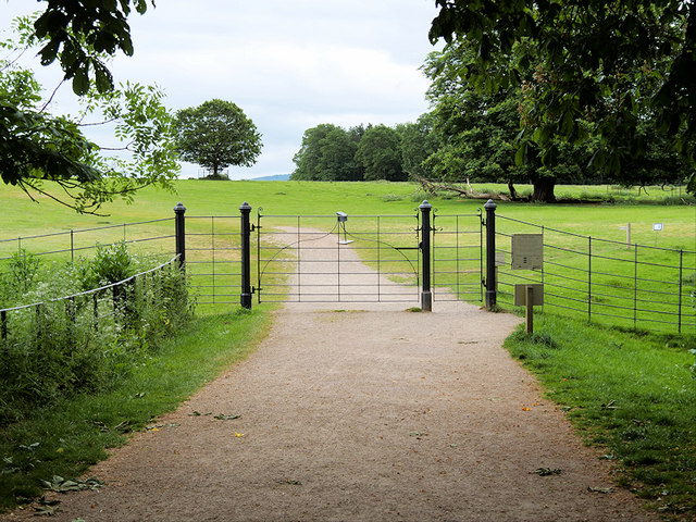 Gate to the Deer Park at Attingham Park