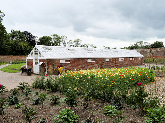 Greenhouse in the Walled Garden at Attingham Park