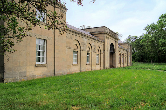 Entrance to the Stable Block at Attingham Park