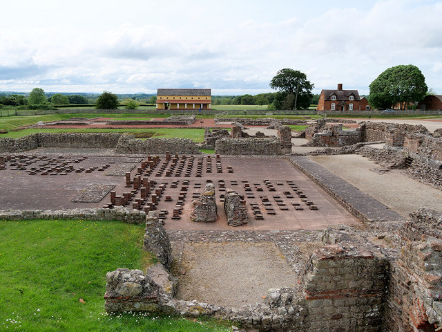 Wroxeter Roman City, Site of the Bath House