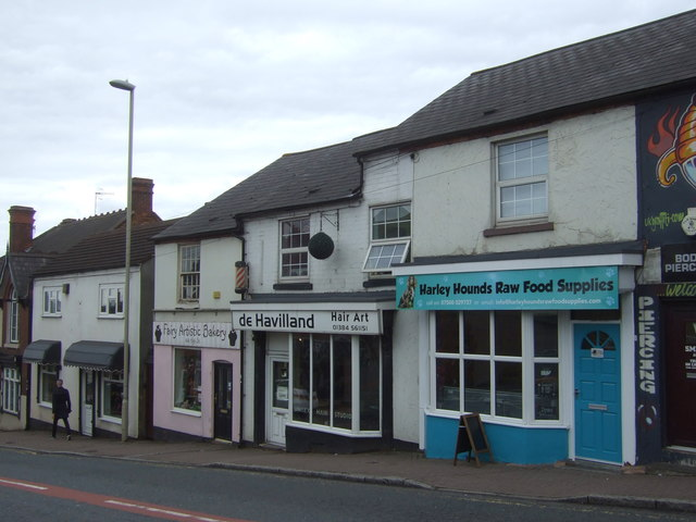 Shops on High Street, Quarry Bank