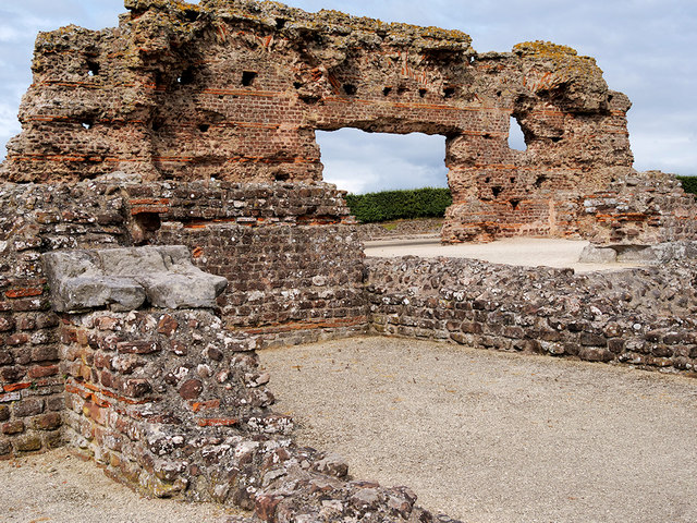 """Wroxeter Roman City, The """"Old Work"""""""
