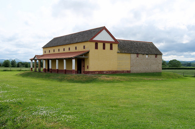 Reconstruction of a Roman Town House at Wroxeter (Viroconium)