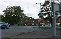 SP8014 : Bicester Road at the junction of Devereux Place by David Howard