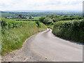 SJ5806 : Minor Road towards Dryton by David Dixon