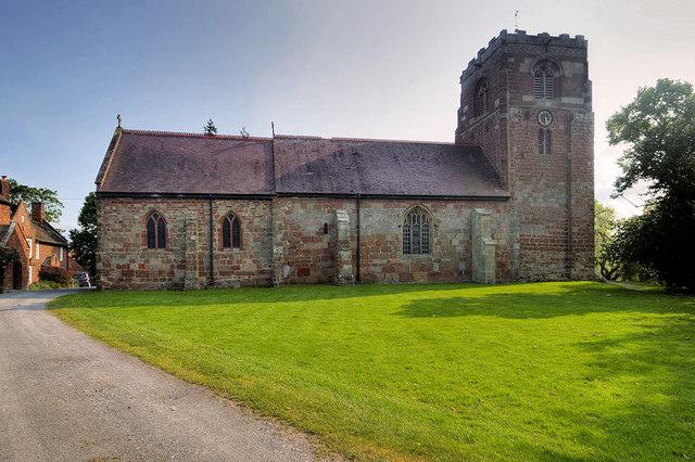 Atcham, The Church of St Eata