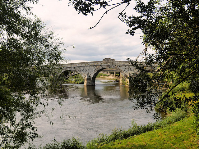 River Severn, Atcham Bridge