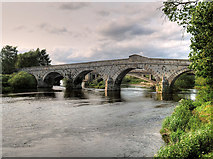 SJ5409 : Atcham Bridge by David Dixon