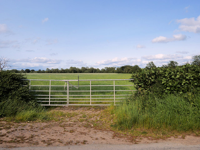 Gate and Field south of Atcham