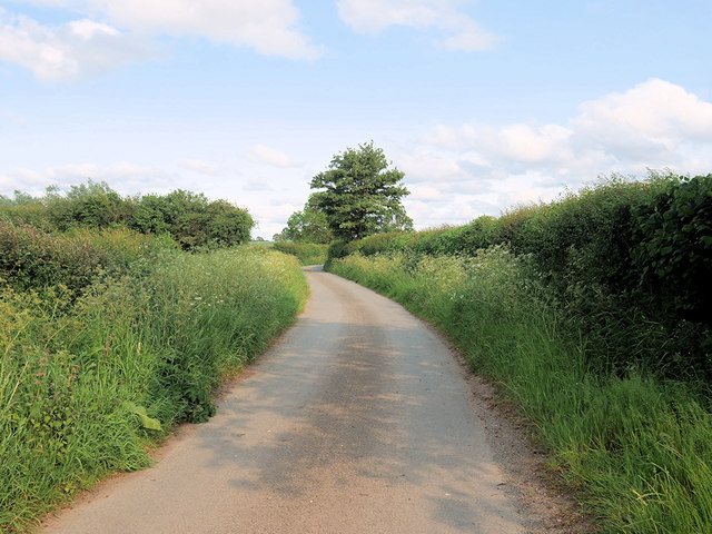 Lane towards Brompton