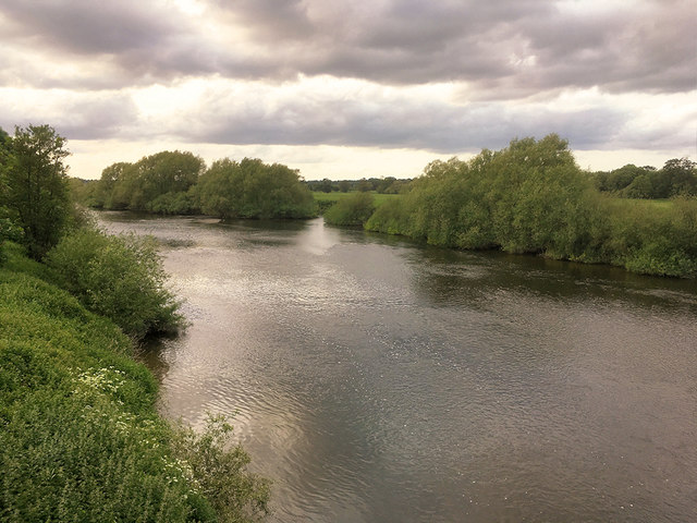 The River Severn at Atcham