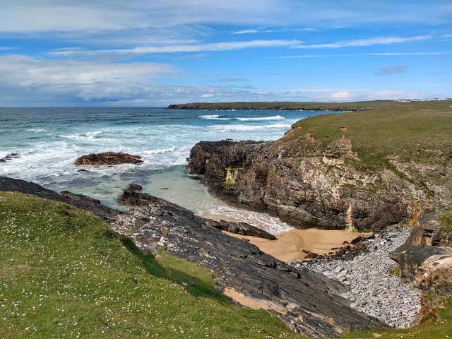 Small beach at Bad an Fhithich, Isle of Lewis