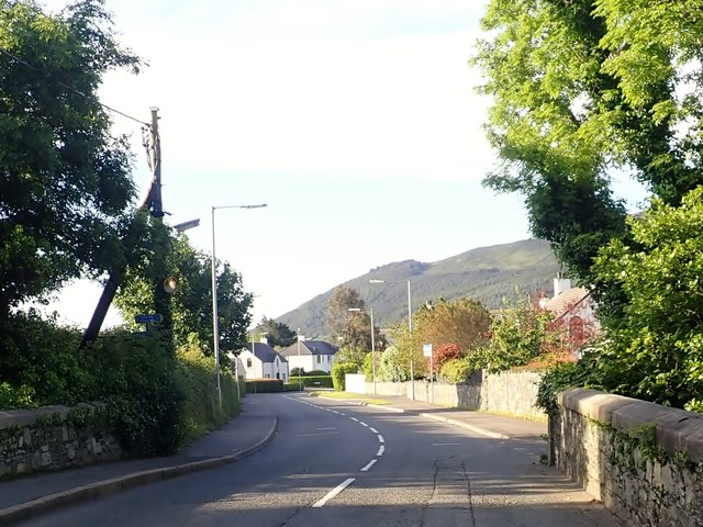 View West towards the Shimna Mile from the New Bridge