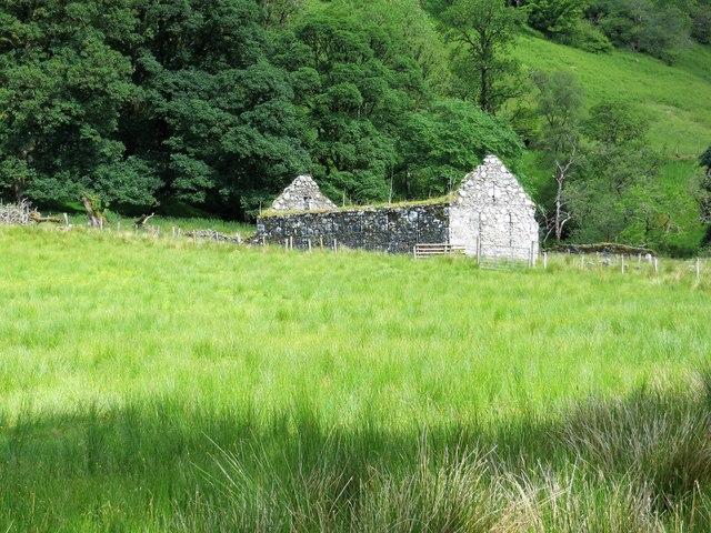 Ruin of Stuckgoay in Glen Shira