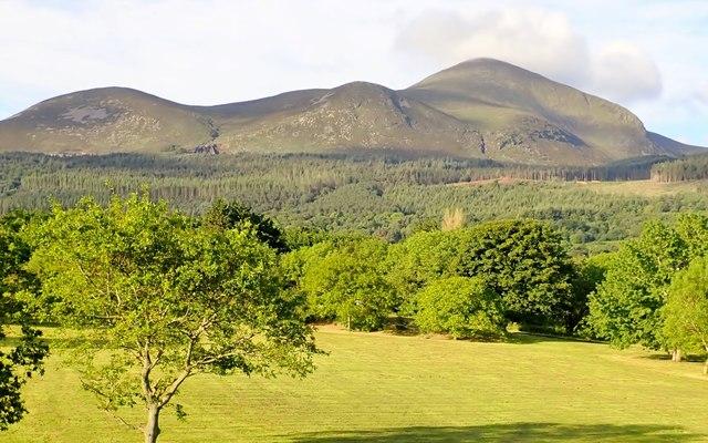 View South across Islands' Park