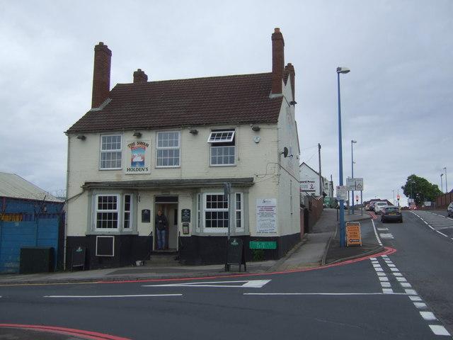 The Swan public house, Cradley Heath