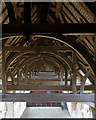 SK4770 : Bolsover Castle: the roof of the Riding School by John Sutton