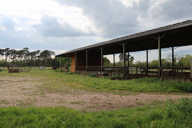 Barn by Sandy Drove