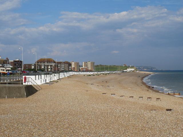 Bexhill beach