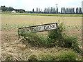 TF5005 : Bramble Lane sign by Adrian Cable