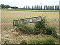 TF5005 : Bramble Lane sign by Geographer