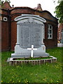 SP0088 : Rood End War Memorial by Richard Law